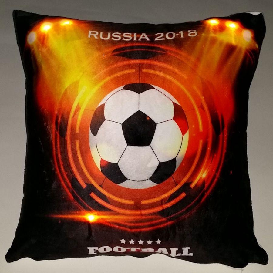 """Подушка """"Футбол-9"""", со светодиодами"""