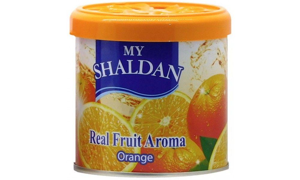 Гелевый освежитель воздуха «Сочный апельсин» 80гр