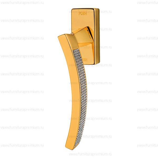 Оконная ручка Linea Cali Profilo Crystal 1041  DK