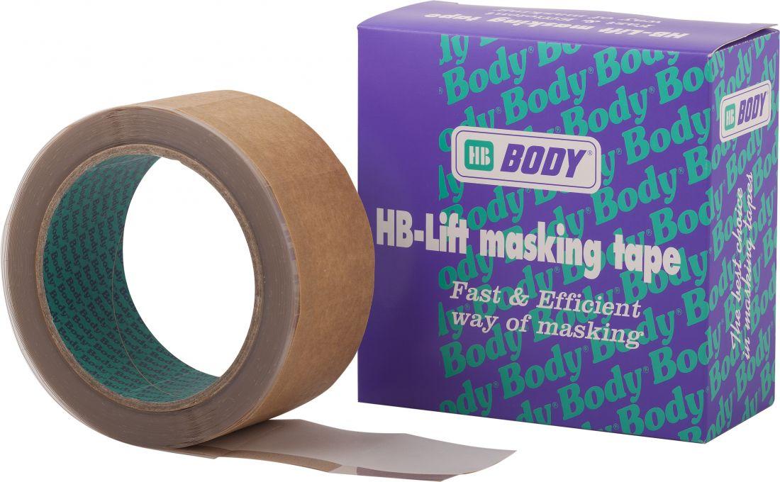 HB Body Маскировочно-придерживающая лента, 9мм. x 10м., (упаковка 1 шт.)