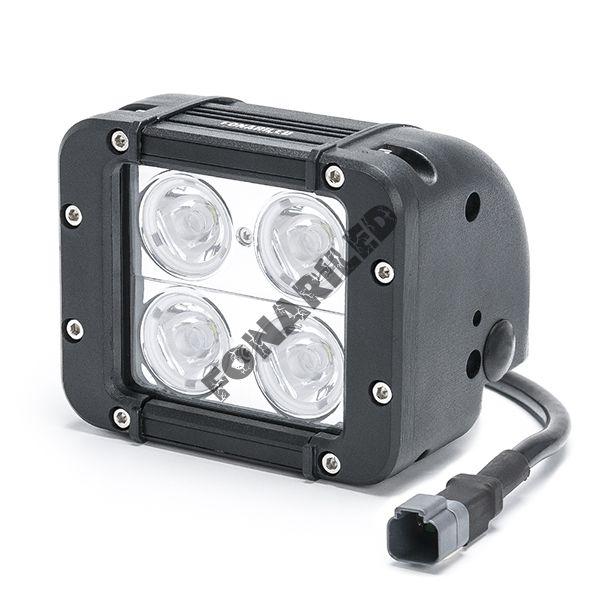 Светодиодная фара DCQ-40W combo комбинированный света (длина 12 см, 4,5 дюйма)