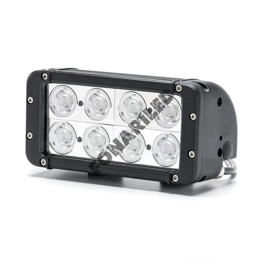 Светодиодная LED Балка DCQ-80W spot дальний свет (длина 20 см, 8 дюймов)