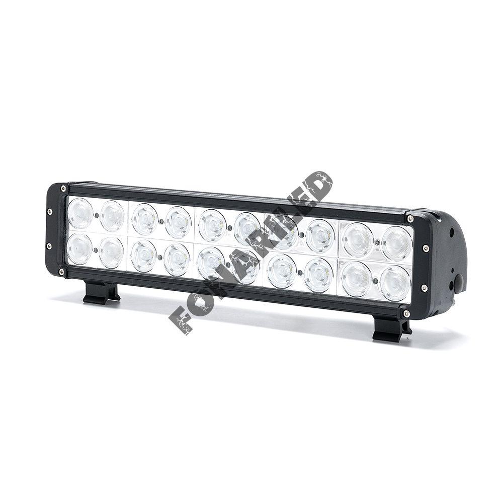 Двухрядная светодиодная балка DCQ-200W combo комбинированный свет (длина 44 см, 17 дюймов)
