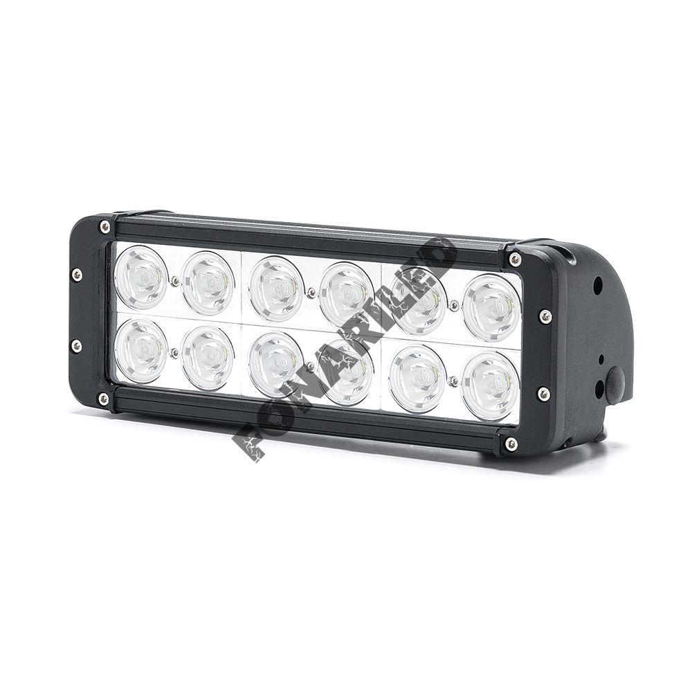 Светодиодная LED Балка DCQ-120W spot дальний свет (длина 28 см, 11 дюймов)
