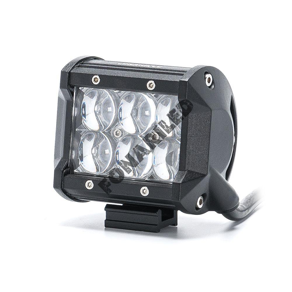 Светодиодная 5D фара DС5D-18 spot (дальний направленный свет)