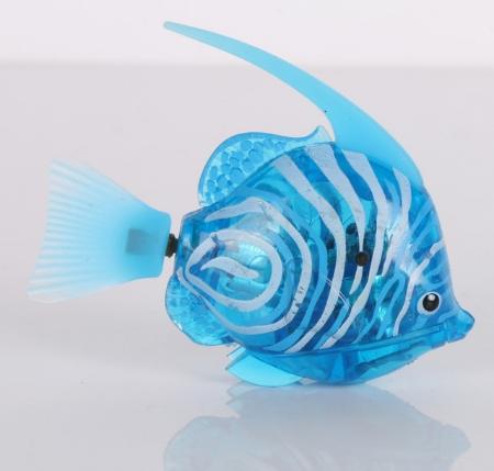 голубая рыбка робот купить