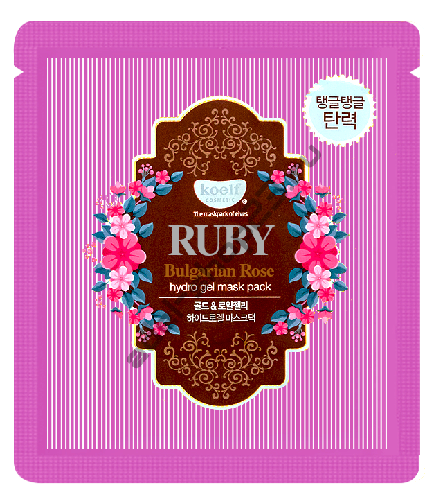 KOELF - Ruby & Bulgarian Rose Hydro Gel Mask Pack