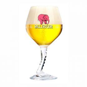 Бокал для пива Delirium на высокой резной ножке 330 мл