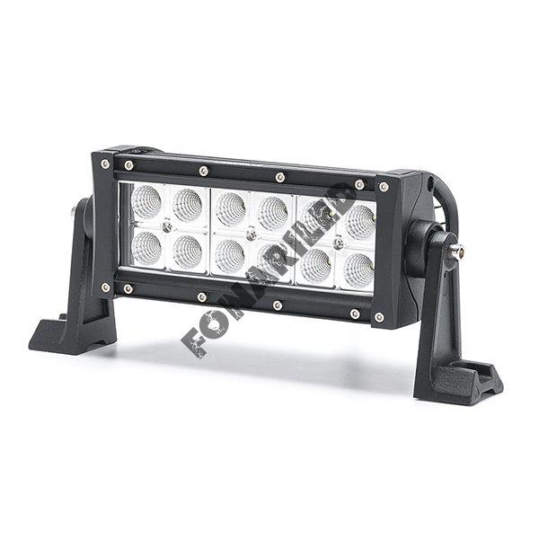 Светодиодная LED Балка DB-36W flood ближний, рабочий свет (длина 20 см, 8 дюймов)