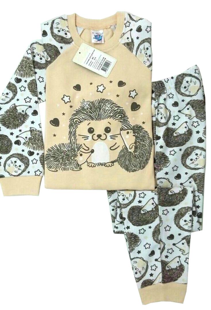 c43accda5c410 Пижама для девочки светло-бежевого цвета - купить детские пижамы ...