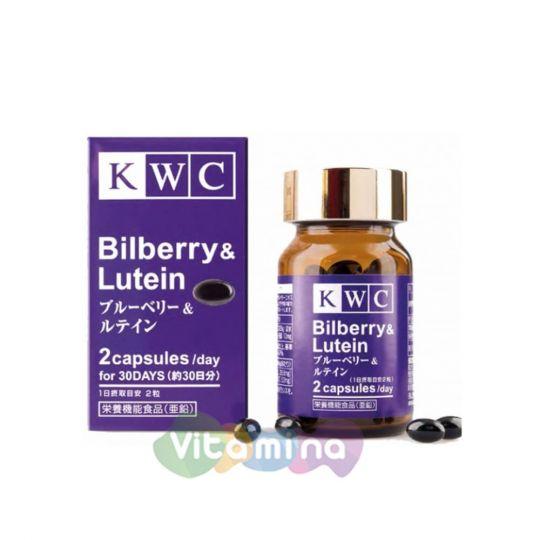 KWC Черника с лютеином и зеаксантином