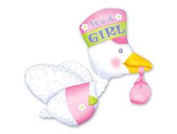Аист для девочки