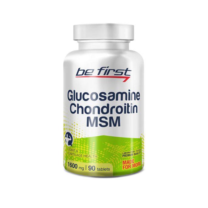 BrFirst Glucosamine+Chondroitin+MSM, 90 таблеток