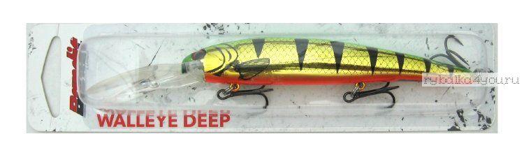 Купить Воблер Bandit Walleye Deep 120 мм / 17,7 гр /Заглубление: до 8,1м цвет: 2D90 Golden Perch