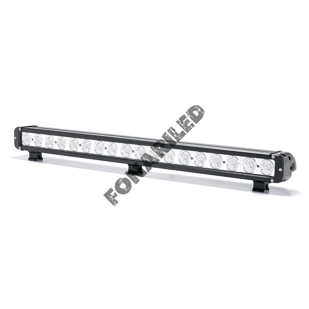 Однорядная светодиодная балка OCQ-180W spot дальний свет (длина 76 см, 30 дюймов)