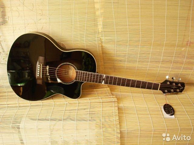 MADEIRA HF-690EA BK Электроакустическая гитара