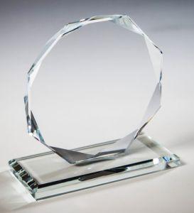 Награда из стекла  (10 см, нанесение  включено в стоимость)