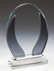 Награда из стекла  (18 см, нанесение  включено в стоимость)