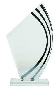 Награда из стекла  (19.5 см, нанесение  включено в стоимость)