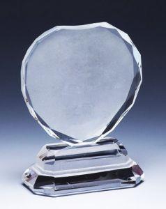 Награда из стекла  (11см, нанесение  включено в стоимость)