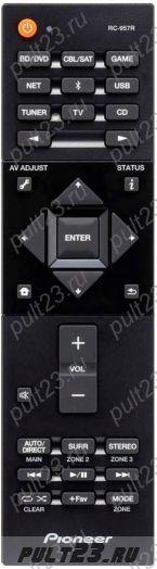 PIONEER RC-957R, VSX-832, VSX-932, VSX-LX102, VSX-LX302