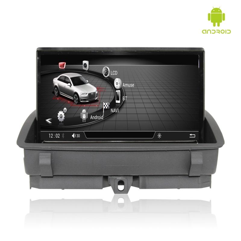 """Монитор 8"""" для Audi Q3 Radiola TC-9601 на системе Андроид 4.4.4"""