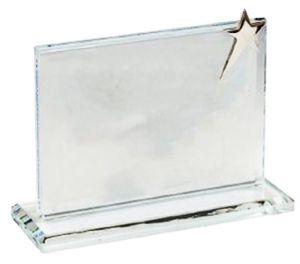 Фигурка из стекла  (11см, нанесение  включено в стоимость)