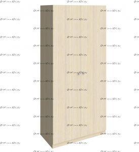 Шкаф Астра (90х60х200)