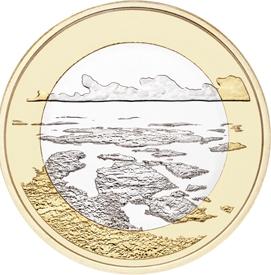 Архипелаговое море 5 евро Финляндия 2018