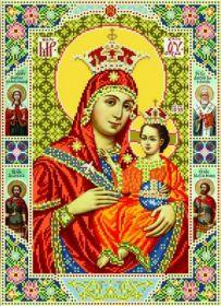 БС Солес ВБ. Вифлеемская Богородица. А3 (набор 2025 рублей)