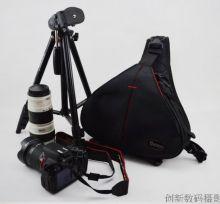 Сумка рюкзак треугольный Canon Duble SLR 322