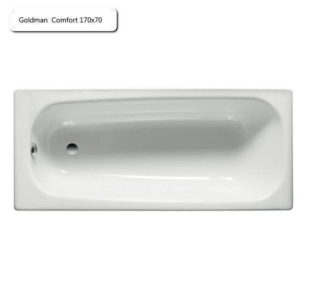Ванна чугунная Goldman  Comfort 170х70