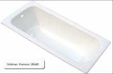 Ванна чугунная Goldman  Premium 180х80