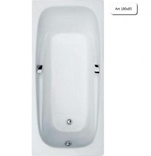 Ванна чугунная Goldman  Art 180х85 с ручками