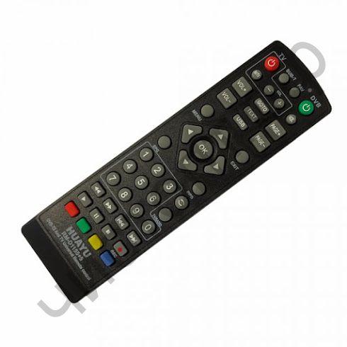 Пульт ТВ универс. RM-D1155+5 (DVB-T2/LCD/LED)