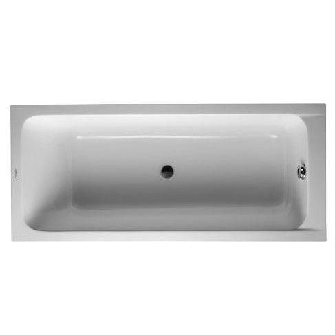 Ванна с центральным сливом Duravit D-Code 170x75 700099 ФОТО