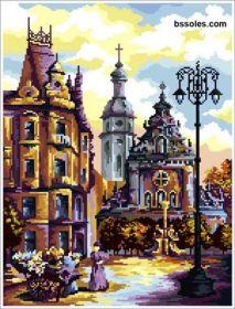 ЛЦА. Церковь Святого Андрея. А3 (набор 2150 рублей) БС Солес
