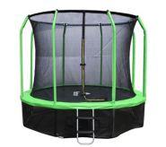 Батут Yarton Green 12ft (366 см) с защитной сеткой