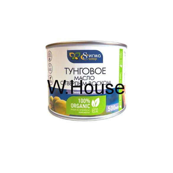 Тунговое масло с твёрдым воском, 0.5 л