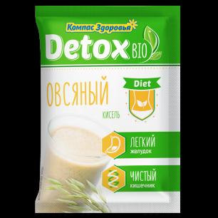 """""""Компас Здоровья"""" Кисель detox bio diet Овсяный 25 г"""