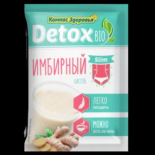"""""""Компас Здоровья"""" Кисель detox bio slim  Имбирный 25 г"""