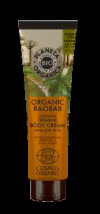 """PO"" Organic baobab Крем для тела органический, 140 мл."