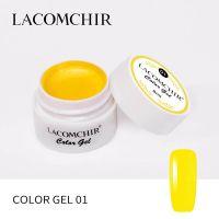LACOMCHIR Гель-краска, желтый №1