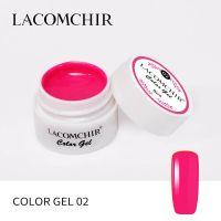 LACOMCHIR Гель-краска, розовый №2