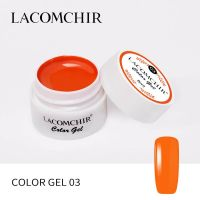 LACOMCHIR Гель-краска, оранжевый №3