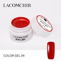 LACOMCHIR Гель-краска, красный №4