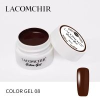 LACOMCHIR Гель-краска, коричневый №8