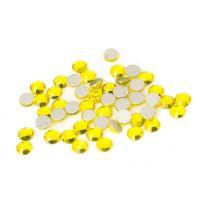 Crystallized стразы для дизайна ногтей, желтые (1440 шт) S5