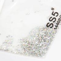 Crystallized стразы для дизайна ногтей, голография (1440шт) S5