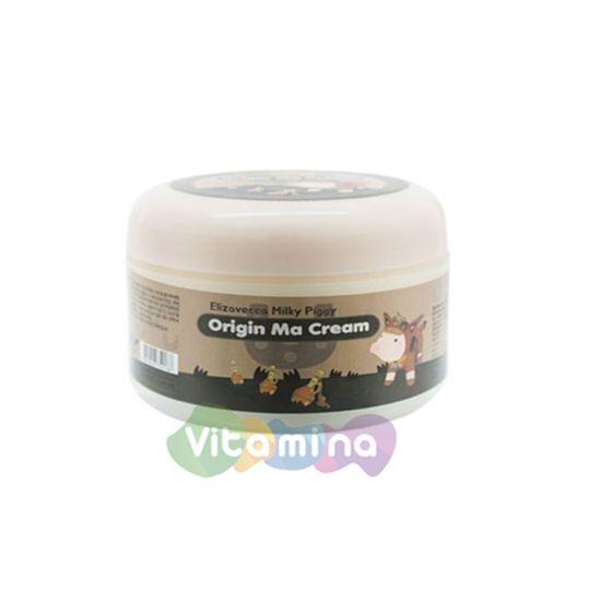 Elizavecca Крем для лица с лошадиным жиром  Milky Piggy Origin Ma Cream, 100 гр